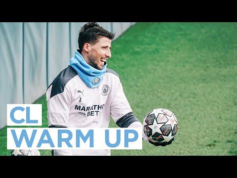 FIRST TEAM TRAINING | WARMING UP FOR CHAMPIONS LEAGUE | BORUSSIA MÖNCHENGLADBACH v MAN CITY