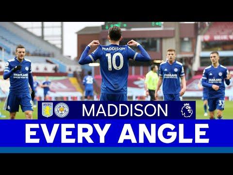 EVERY ANGLE | James Maddison vs. Aston Villa | 2020/21
