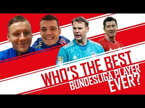 Who is the GOAT Bundesliga player?   Bernd Leno & Granit Xhaka   World Cup of Everything