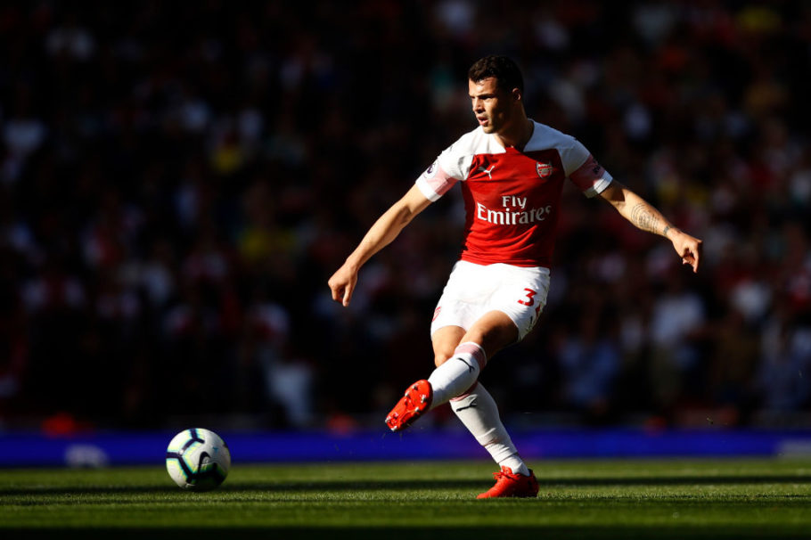 Granit Xhaka issues public apology to Arsenal's fans over role in Burnley equaliser