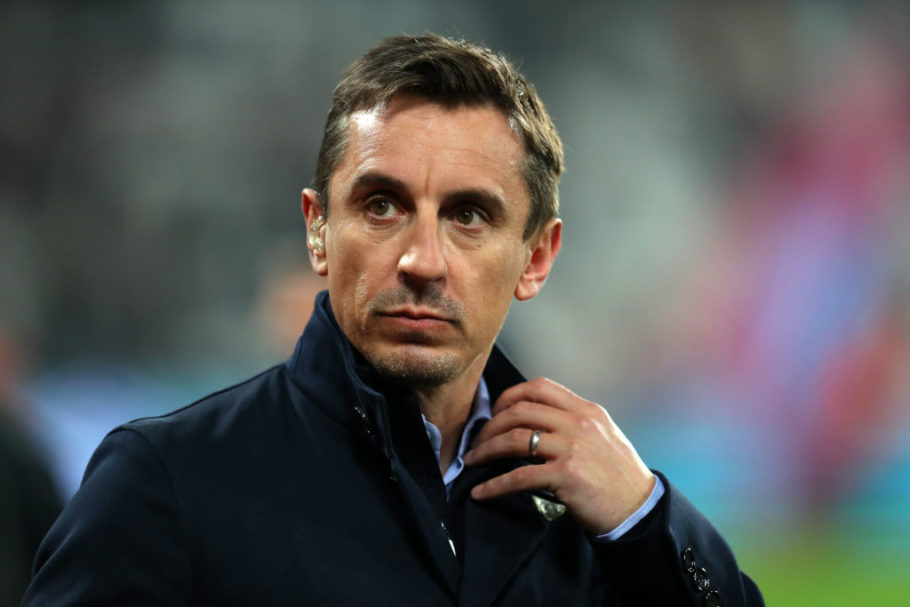 Gary Neville predicts top 4 final standings after Manchester United beat West Ham