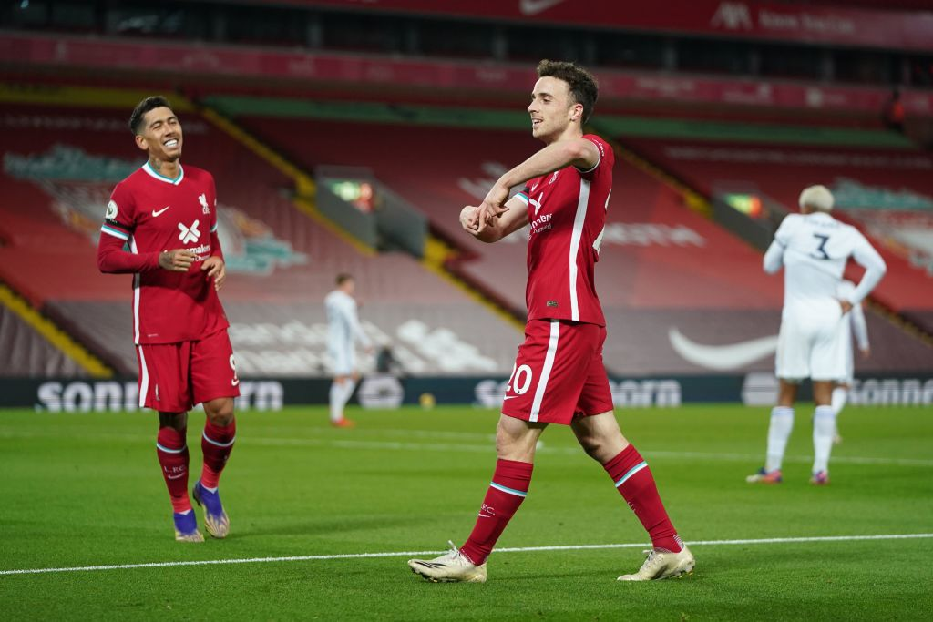 Diogo Jota hoping to be like new signing for Liverpool