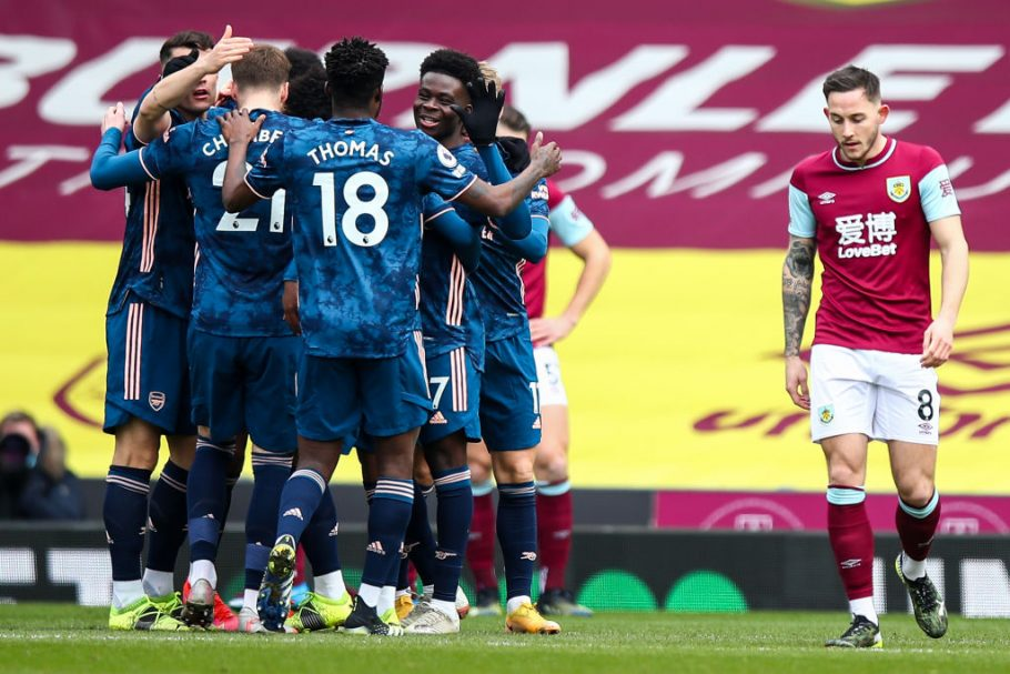 Arsenal fans swoon over Thomas Partey following involvement in Burnley opener
