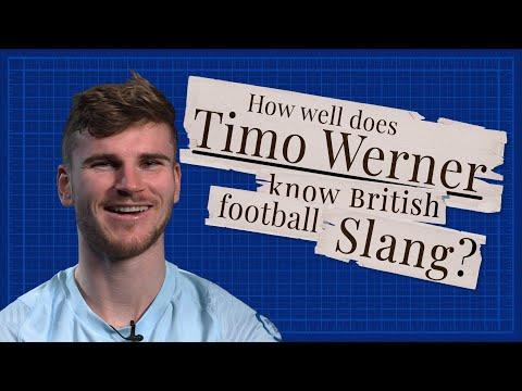 """Goal-hanger? Oh it's me!"" 🤣 | Timo Werner learns British football slang"