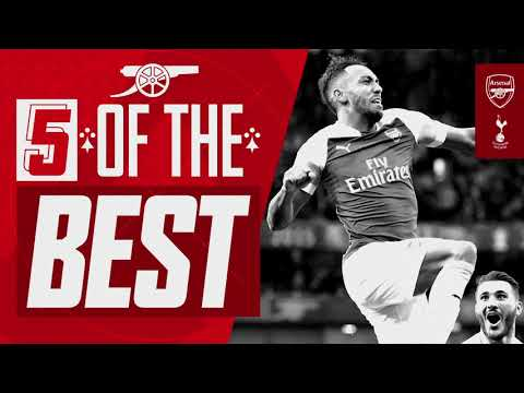 5 of the best Arsenal goals against Tottenham