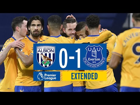 EXTENDED HIGHLIGHTS: WEST BROM 0-1 EVERTON