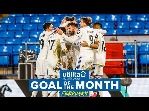 Leeds United February Goal of the Month | Raphinha free-kick, Dallas curler, Struijk header