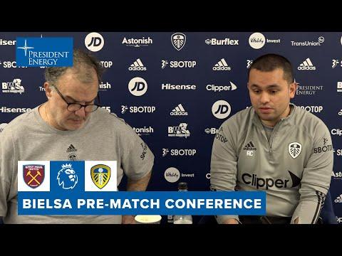 Injury update, Raphinha ability, West Ham form | Marcelo Bielsa pre-match | West Ham v Leeds United