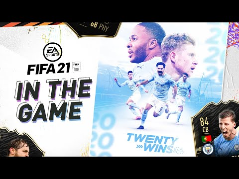 20+ WINS FOR CITY | WIN A FIFA 21 GAME AGAINST PHIL FODEN | IN THE GAME | MAN CITY