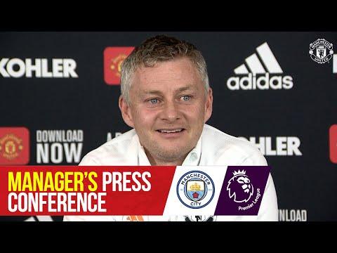 Manager's Press Conference | Manchester City v Manchester United | Ole Gunnar Solskjaer I EPL