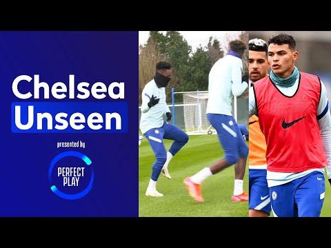 Thiago Silva Returns To Training + Tammy & Hudson Odoi's Hilarious Rap 🤣   Chelsea Unseen