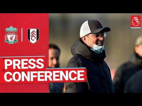 Jürgen Klopp's pre-match press conference | Fulham